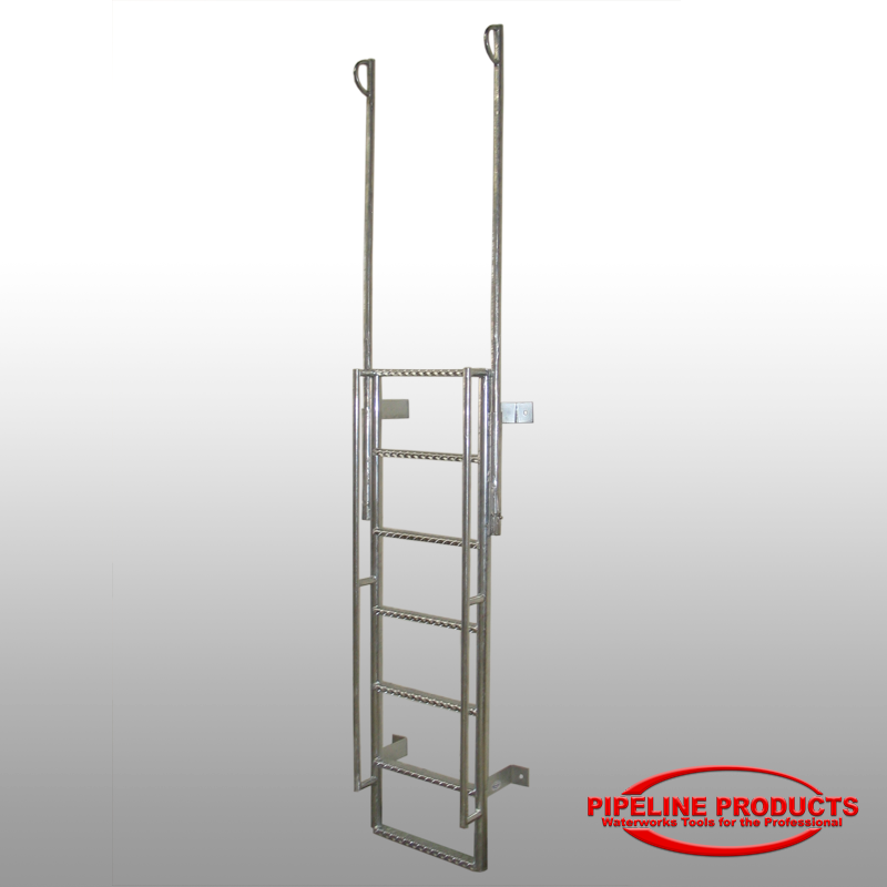 Vl 100 Vault Ladder With Extendable Handrails