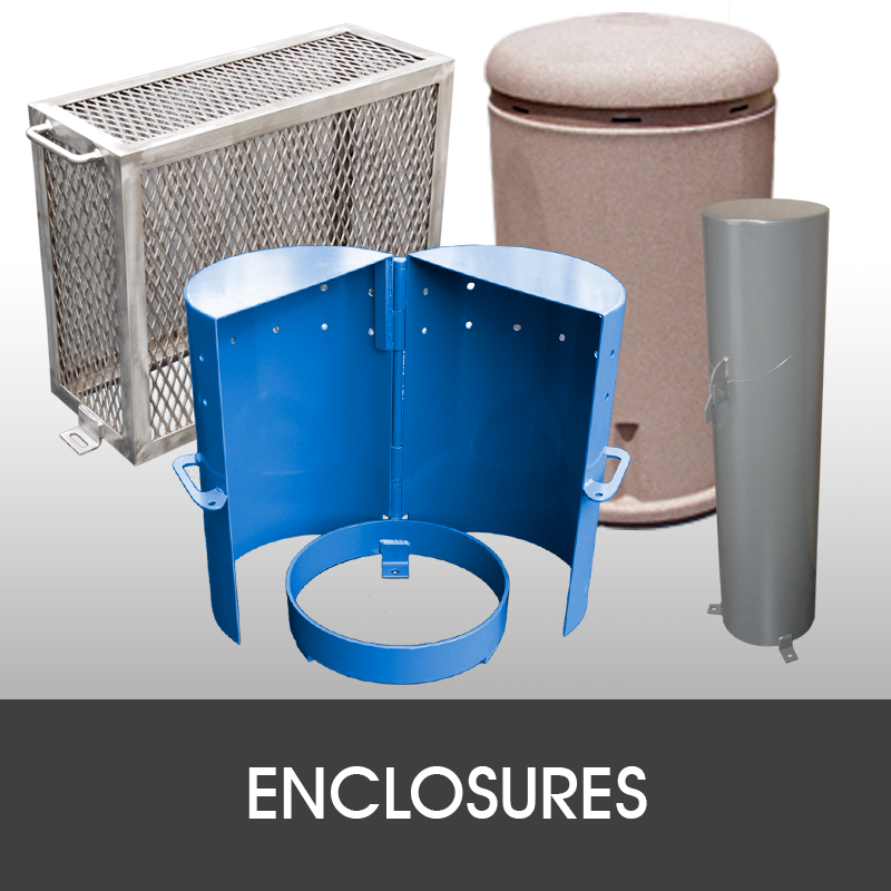 waterworks enclosures